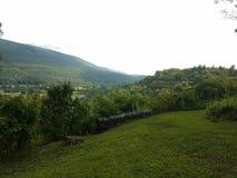 Green Mountains Stock Photo