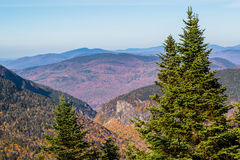 Vermont mountains in fall Royalty Free Stock Images