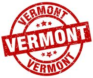 Vermont stamp Stock Images