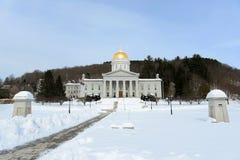 Vermont stanu dom, Montpelier Zdjęcie Royalty Free
