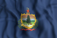 Vermont State flag Royalty Free Stock Photos
