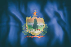 Vermont State flag Stock Image