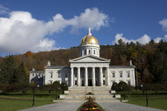 Vermont State House Capital Building. Is located in Montpelier, VT, USA Royalty Free Stock Images