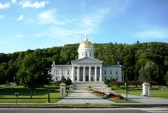 Vermont State House Royalty Free Stock Image
