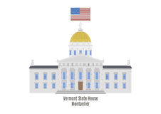 Vermont State House, Montpelier Stock Images
