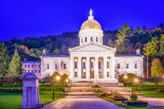 The Vermont State House. In Montpelier, Vermont, USA Stock Photography