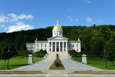 Vermont State House, Montpelier Stock Photos