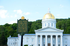 Vermont State House, Montpelier Royalty Free Stock Photo