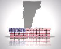 Vermont State Royalty Free Stock Image