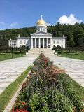 The Vermont Statehouse Stock Photo