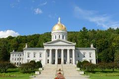 Vermont stathus, Montpelier Royaltyfri Fotografi
