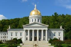 Vermont stathus, Montpelier Arkivbild