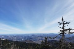 Vermont utsikter arkivfoto