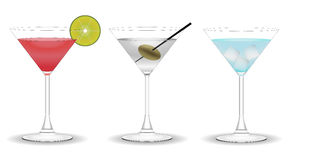 Vermouth coctails Royalty Free Stock Image