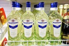 Vermouth Martiamo Bianco Stock Fotografie