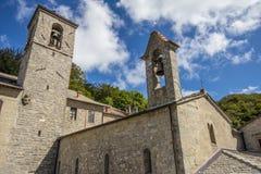 Verna Sanctuary en Toscana, Italia Fotografía de archivo libre de regalías