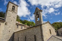 Verna Sanctuary in Tuscany, Italy Royalty Free Stock Photography