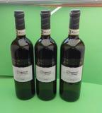 Vernaccia wina butelki Obraz Stock