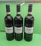 Vernaccia wine bottles Stock Image