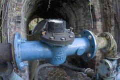 Vernachlässigte mechanische Pumpe Lizenzfreies Stockfoto