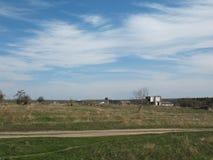 Vernachlässigter Bauernhof Lizenzfreies Stockbild