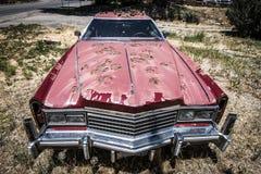 Vernachlässigtes Auto Lizenzfreie Stockbilder
