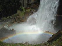 Vernal πτώσεις, Yosemite NP Στοκ φωτογραφίες με δικαίωμα ελεύθερης χρήσης