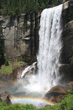 Vernal Fall with rainbow Royalty Free Stock Image