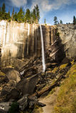 Vernal Fall Yosemite in Autumn Royalty Free Stock Photos