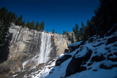 Vernal Fall. Yosemite National Park Royalty Free Stock Images
