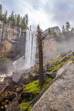 Vernal Fall in Yosemite National Park Royalty Free Stock Photography