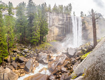 Vernal Fall in Yosemite National Park Royalty Free Stock Photo