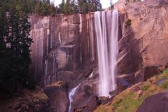 Vernal Fall in Yosemite NP Stock Photos