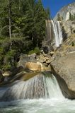 Vernal Falls. In Yosemite National Park Royalty Free Stock Photography