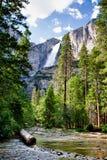 Vernal Falls Arkivfoto