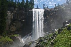 Vernal Falls. In Yosemite National Park, California Stock Images