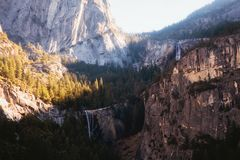 Free Vernal Falls And Nevada Falls From Sierra Point Stock Image - 108416661