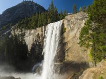 Vernal Falls. Beautiful Vernal Falls is located on Merced river. Yosemite National Park, California, USA Stock Photography