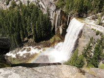 Vernal Falls Rainbow Royalty Free Stock Image