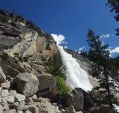Vernal Falls via Mist Trail royalty free stock photography