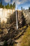 Vernal nedgång Yosemite i höst royaltyfria foton