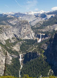 Vernal and Nevada Falls Royalty Free Stock Photography