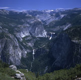 Vernal and Nevada Falls Stock Images