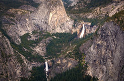 Vernal and Nevada Falls Stock Image