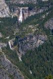 Vernal och Nevada Falls i Yosemite Royaltyfri Foto