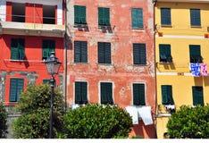 Vernazza美丽的景色 免版税库存照片