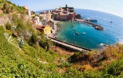 Vernazza, Cinque Terre,意大利IV 免版税库存图片