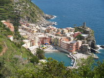 vernazza της Ιταλίας Στοκ φωτογραφία με δικαίωμα ελεύθερης χρήσης