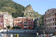 vernazza Италии стоковые фото