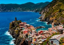 Vernazza Photos stock